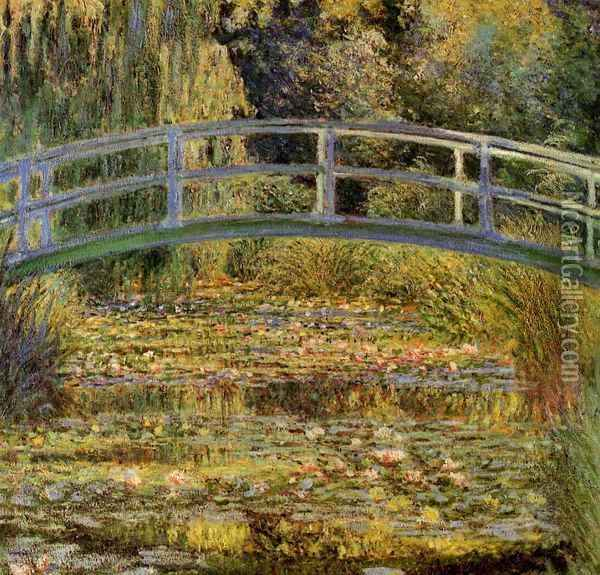 Water-Lily Pond I Oil Painting - Claude Oscar Monet