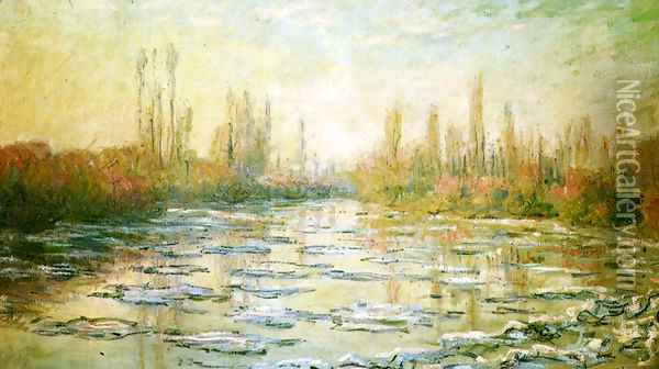 The Ice-Floes Oil Painting - Claude Oscar Monet