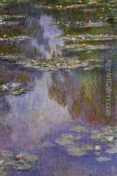 Water Lilies15 Oil Painting - Claude Oscar Monet