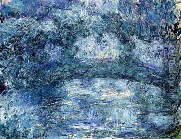 The Japanese Bridge IV Oil Painting - Claude Oscar Monet