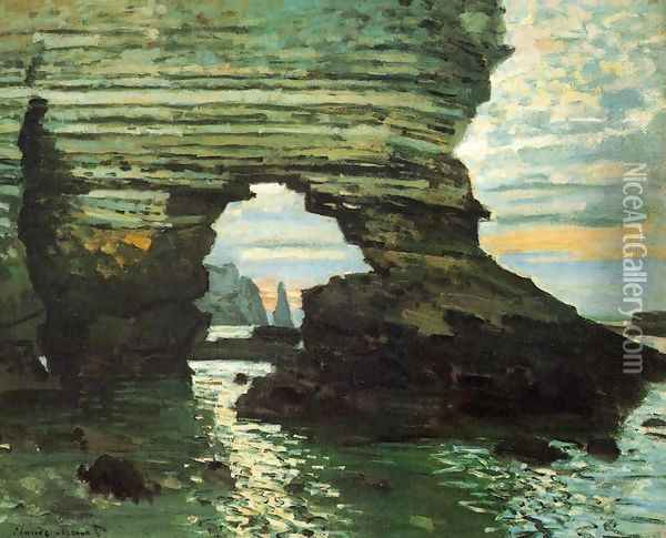 The Porte D Amont Etretat Oil Painting - Claude Oscar Monet