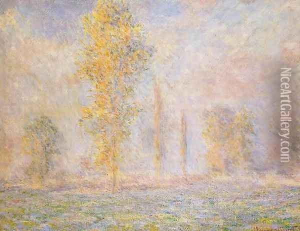 The Meadow At Giverny Oil Painting - Claude Oscar Monet
