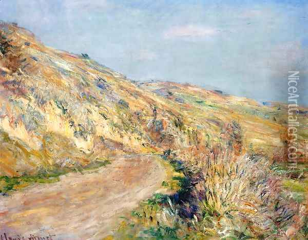 The Road To Giverny2 Oil Painting - Claude Oscar Monet