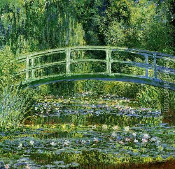 Water-Lily Pond II Oil Painting - Claude Oscar Monet