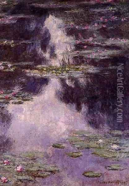 Water Lilies2 Oil Painting - Claude Oscar Monet