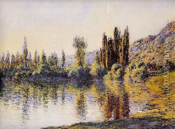 The Seine At Vetheuil4 Oil Painting - Claude Oscar Monet