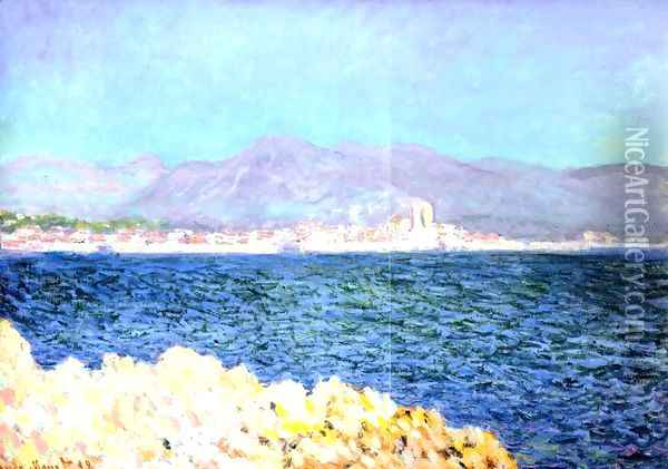 The Gulf Of Antibes Oil Painting - Claude Oscar Monet