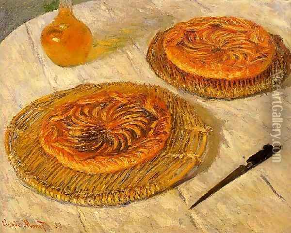 The Galettes Oil Painting - Claude Oscar Monet