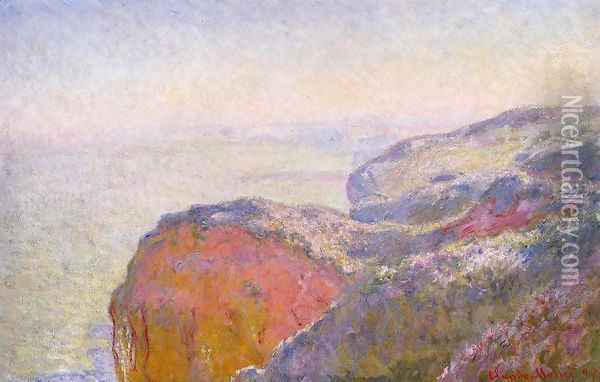 Val Saint Nicolas Near Dieppe In The Morning Oil Painting - Claude Oscar Monet
