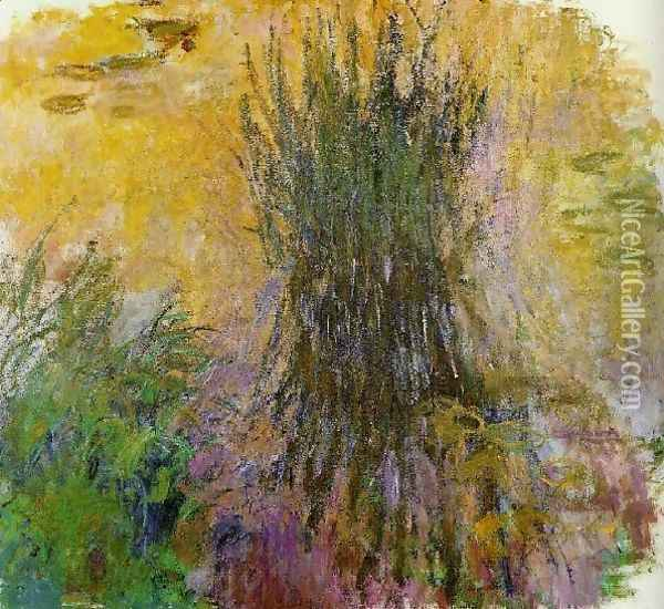 Water Lilies20 Oil Painting - Claude Oscar Monet