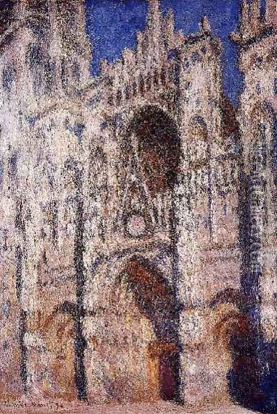 Rouen Cathedral2 Oil Painting - Claude Oscar Monet