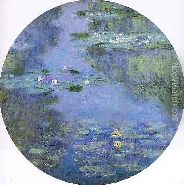 Water Lilies17 Oil Painting - Claude Oscar Monet