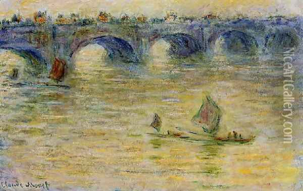 Waterloo Bridge 3 Oil Painting - Claude Oscar Monet