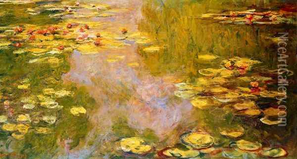 The Water-Lily Pond VIII Oil Painting - Claude Oscar Monet