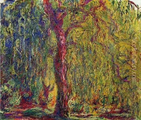 Weeping Willow7 Oil Painting - Claude Oscar Monet