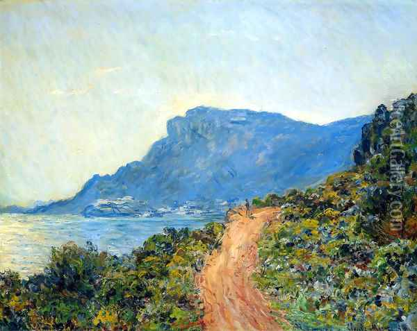 Claude La Corniche Sun Oil Painting - Claude Oscar Monet