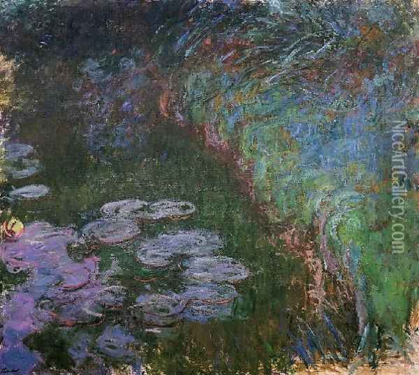 Water Lilies47 Oil Painting - Claude Oscar Monet