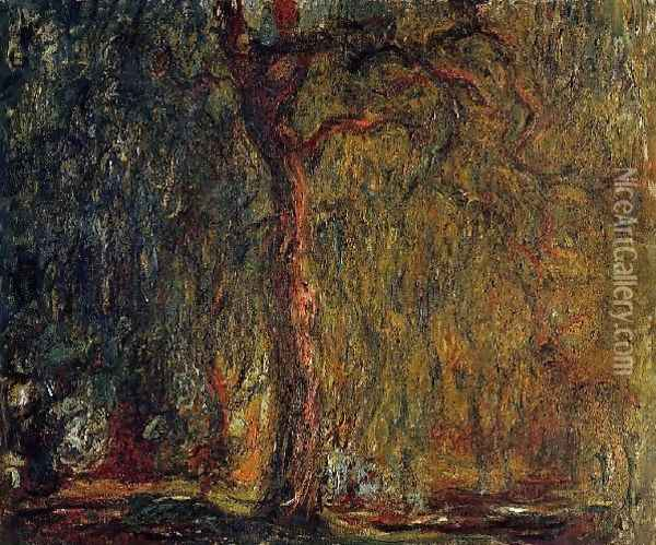 Weeping Willow6 Oil Painting - Claude Oscar Monet
