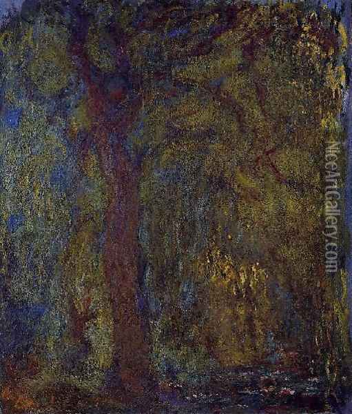Weeping Willow5 Oil Painting - Claude Oscar Monet