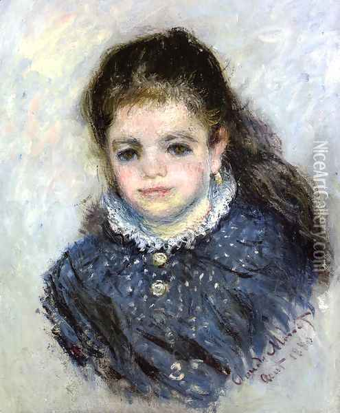 Portrait of Jeanne Serveau Oil Painting - Claude Oscar Monet