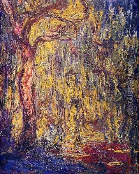 Weeping Willow3 Oil Painting - Claude Oscar Monet