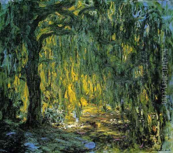 Weeping Willow II Oil Painting - Claude Oscar Monet