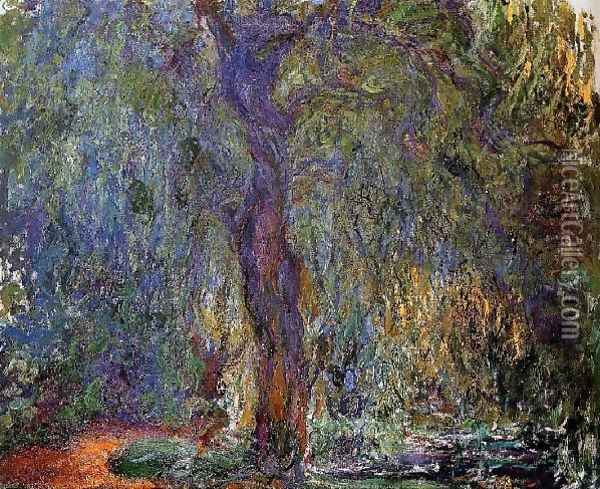 Weeping Willow4 Oil Painting - Claude Oscar Monet