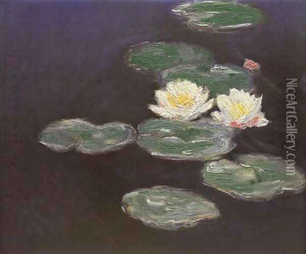 Nympheas (Waterlilies) Oil Painting - Claude Oscar Monet