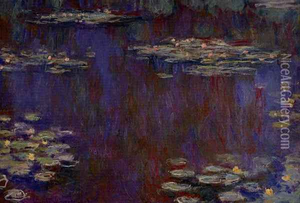 Water-Lilies XIV Oil Painting - Claude Oscar Monet