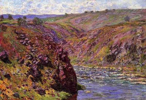 Valley of the Creuse, Sunlight Effect Oil Painting - Claude Oscar Monet