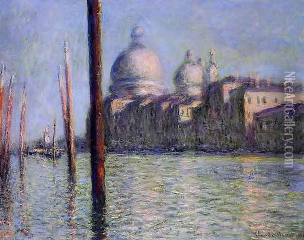 The Grand Canal Oil Painting - Claude Oscar Monet