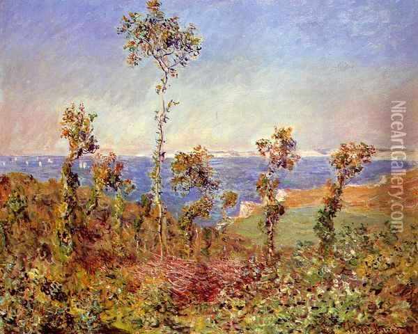The 'Fonds' at Varengeville Oil Painting - Claude Oscar Monet