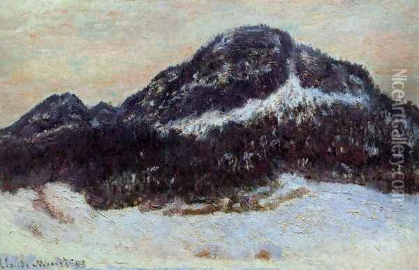 Mount Kolsaas I Oil Painting - Claude Oscar Monet