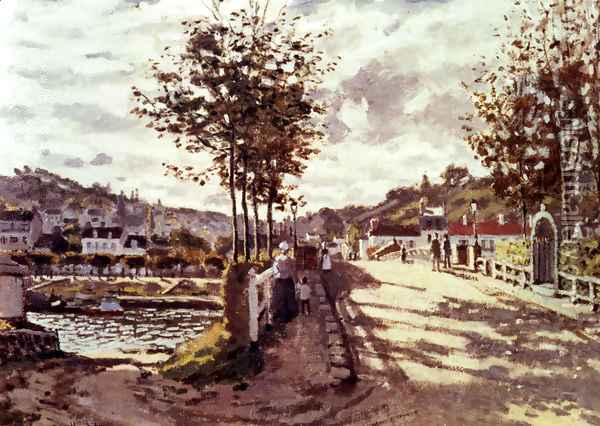 The Seine At Bougival 2 Oil Painting - Claude Oscar Monet