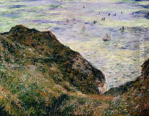 View Over The Seas Oil Painting - Claude Oscar Monet