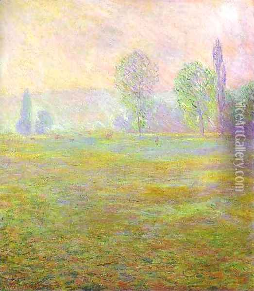 Meadows at Giverny Oil Painting - Claude Oscar Monet