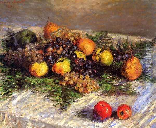 Still Life Oil Painting - Claude Oscar Monet