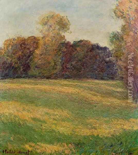 Meadow in the Sun Oil Painting - Claude Oscar Monet