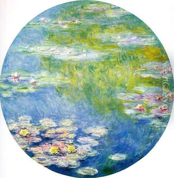 Water-Lilies 18 Oil Painting - Claude Oscar Monet