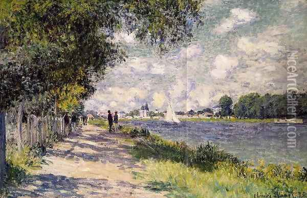 The Seine at Argenteuil 2 Oil Painting - Claude Oscar Monet