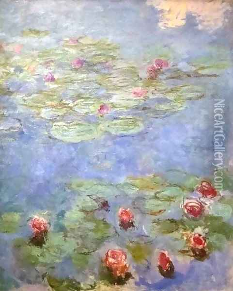 Water Lilies 3 Oil Painting - Claude Oscar Monet