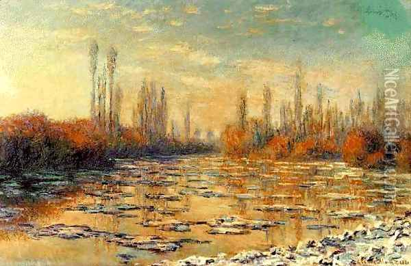 The Floating Ice Oil Painting - Claude Oscar Monet