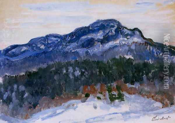 Mount Kolsaas 1 Oil Painting - Claude Oscar Monet