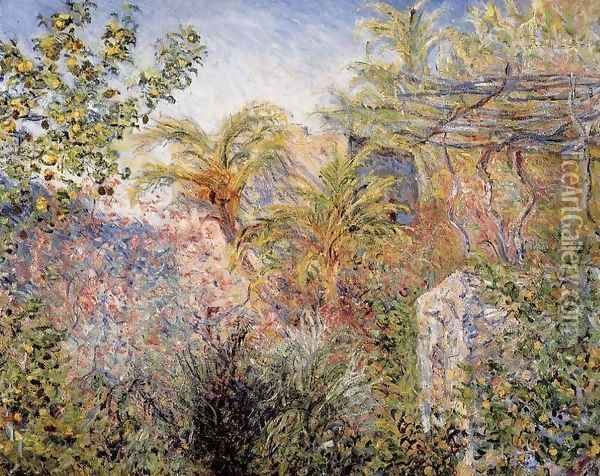 The Valley of Sasso, Bordighera 1 Oil Painting - Claude Oscar Monet