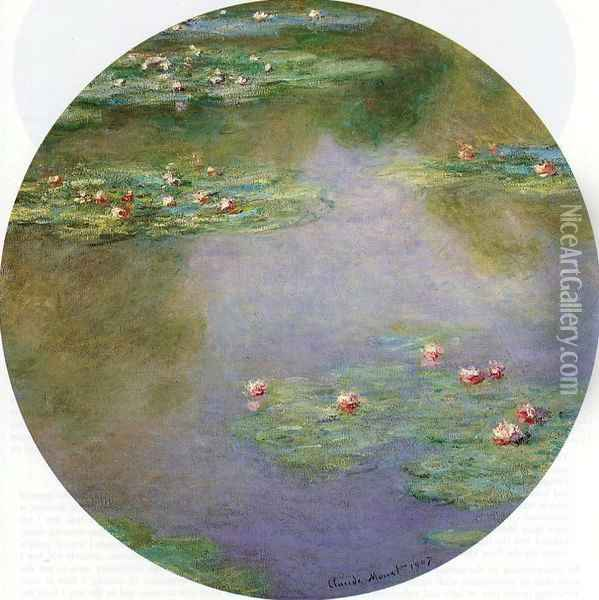 Water-Lilies 6 Oil Painting - Claude Oscar Monet
