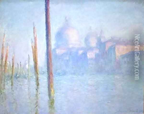 Grand Canal Venice Oil Painting - Claude Oscar Monet