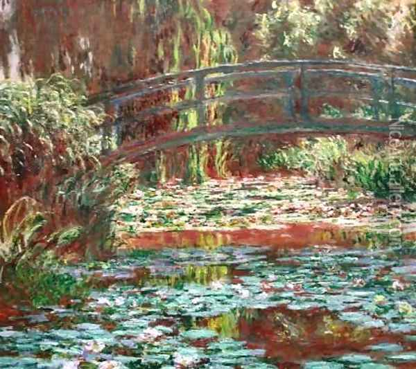 Water Lily Pool Oil Painting - Claude Oscar Monet