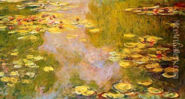 The Water-Lily Pond 1919 Oil Painting - Claude Oscar Monet