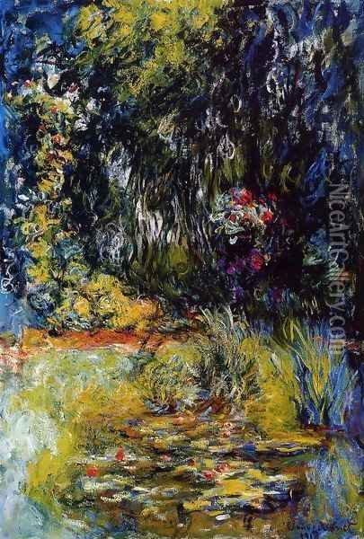 The Water-Lily Pond1 1918-1919 Oil Painting - Claude Oscar Monet