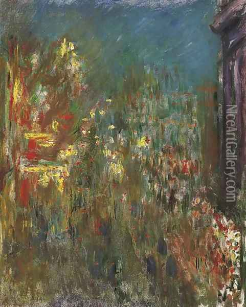 Leicester Square, la nuit Oil Painting - Claude Oscar Monet